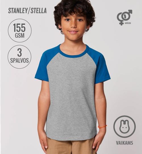 SS Marškinėliai Stanley Stella Mini Catcher short sleeve STTK 914 kids