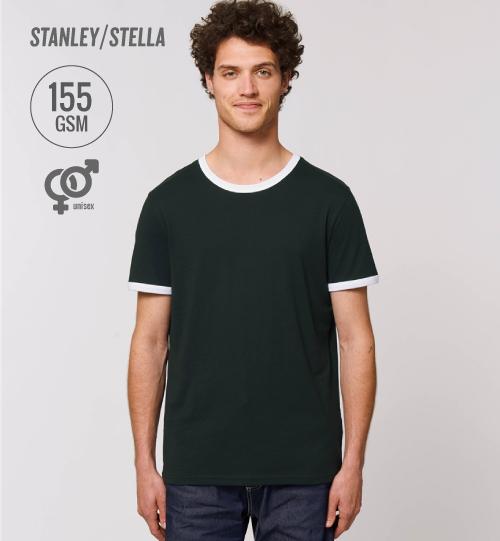 SS Marškinėliai Stanley Stella Ringer STTU 827 unisex