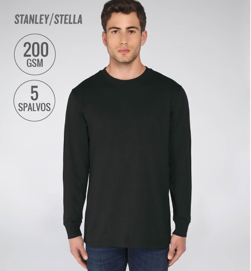 Marškinėliai Stanley Stella SHIFTS DRY STTM 558 ilgomis rankovėmis men