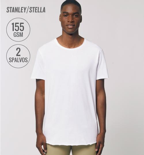 Marškinėliai Stanley Stella prailginti SKATER STTM 605 men