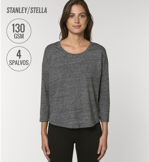 Marškinėliai Stanley Stella Waver Slub STTW 114 women