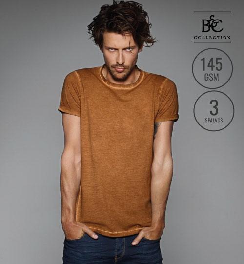 Marškinėliai  DNM PLUG IN /MEN 193.42 TMD70 B&C