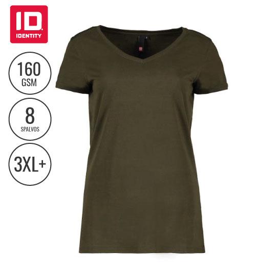 Marškinėliai Core V-neck tee / ladies 0543 ID IDENTITY