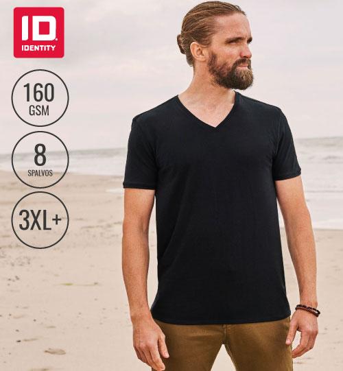 Marškinėliai Core V-neck tee / Men 0542 ID IDENTITY