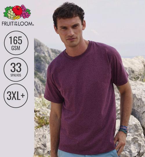 Marškinėliai vyrams  Valueweight T 150.01 (61-036-0) FRUIT OF THE LOOM