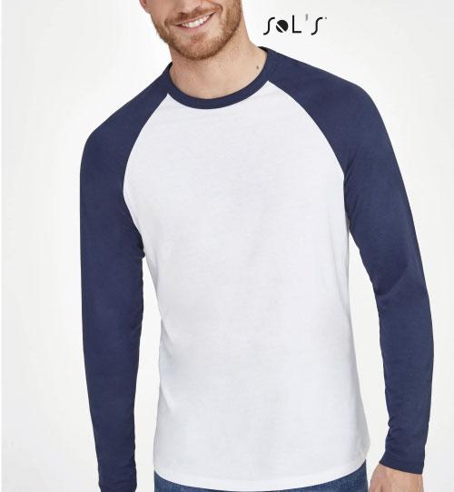 Marškinėliai Funky LSL 02942 SOLS