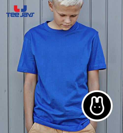 Marškinėliai vaikams TEE JAYS Power Tee 128.54 (1100B)
