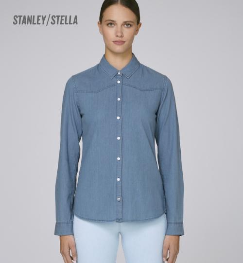 Marškiniai Stanley STELLA INSPIRES DENIM STWW 072