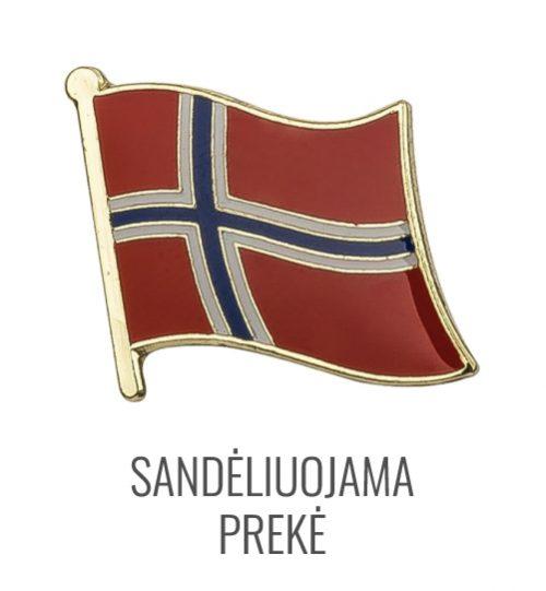 Ženkliukas Norvegijos vėliava
