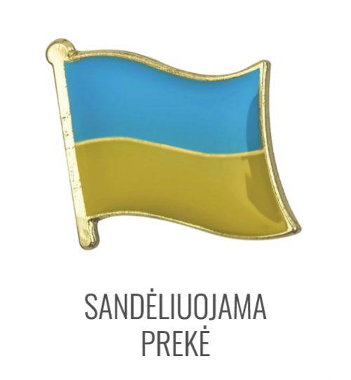 Ženkliukas Ukrainos vėliava