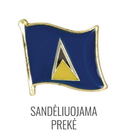 Ženkliukas Sent Lusija vėliava