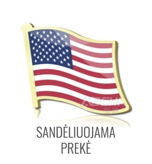 Ženkliukas Amerikos USA vėliava