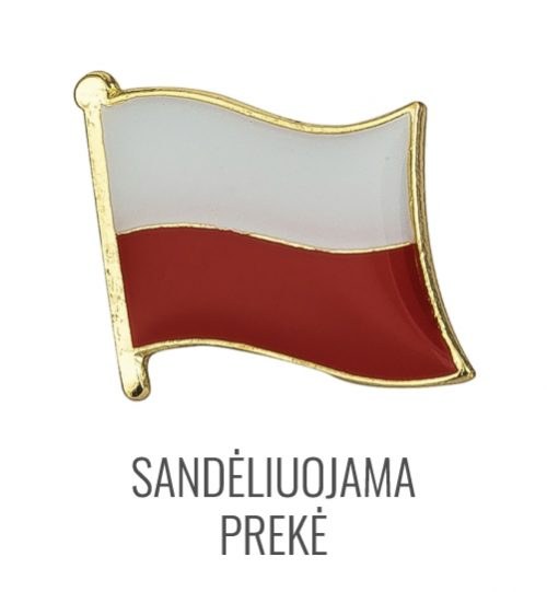 Ženkliukas Lenkijos vėliava