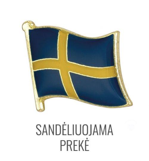 Ženkliukas Švedijos vėliava