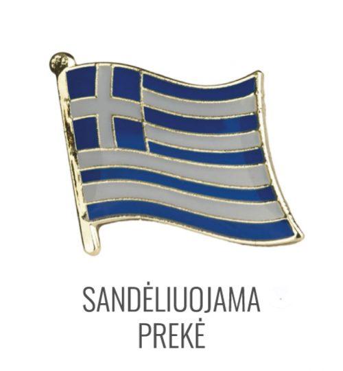 Ženkliukas Graikijos vėliava