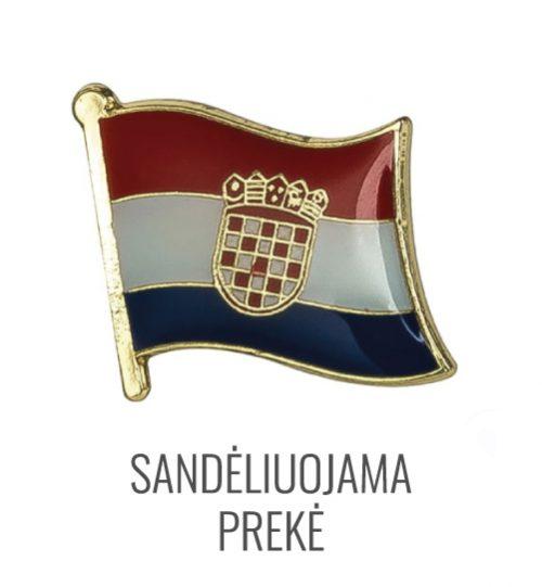 Ženkliukas Kroatijos vėliava