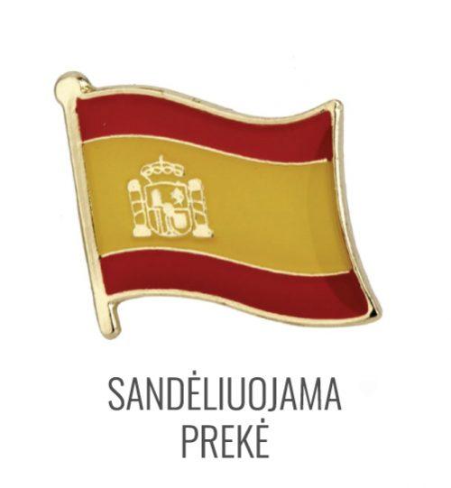 Ženkliukas Ispanijos vėliava