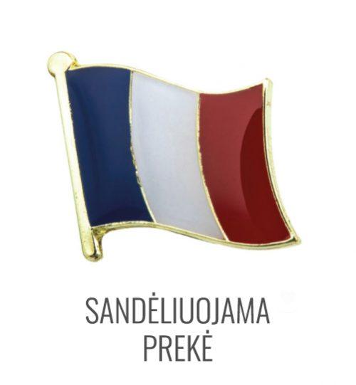 Ženkliukas Prancūzijos vėliava