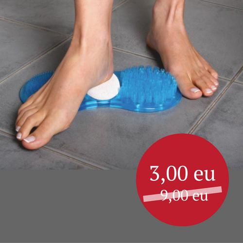 Pėdų šveitiklis-masažuoklis