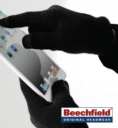 Liečiamo ekrano pirštinės Beechfield 324.69 (B490)