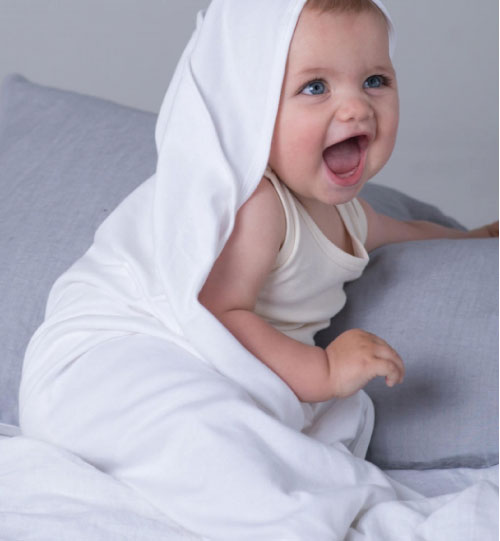 Pledukas Baby Organic Hooded BZ24 Mantis 034.47