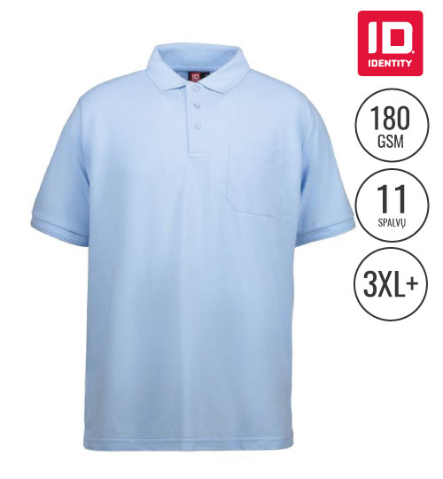 Polo marškinėliai Classic Pocket Men 0520 ID IDENTITY