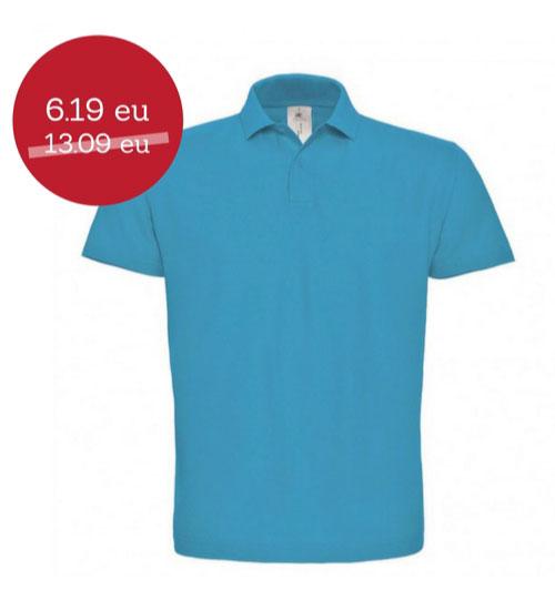 IŠPARDAVIMAS Polo marškinėliai ID 001 B&C