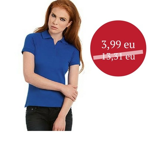 IŠPARDAVIMAS Polo marškinėliai BC Safran pure/women