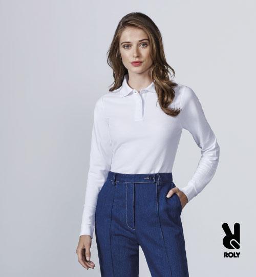 Polo marškinėliai Roly Estrela/women LSL 6636