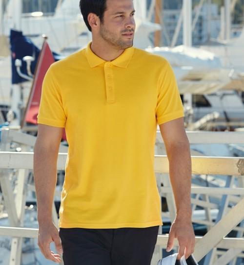 Polo marškinėliai vyriški FRUIT OF THE LOOM Premium Polo 551.01
