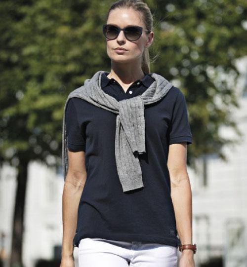 Polo marškinėliai Yale Ladies NIMBUS
