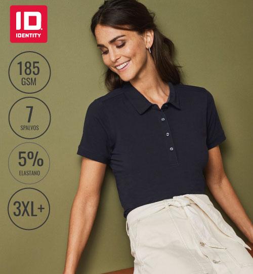 Polo marškinėliai Ladies Business Strech 0535 ID IDENTITY