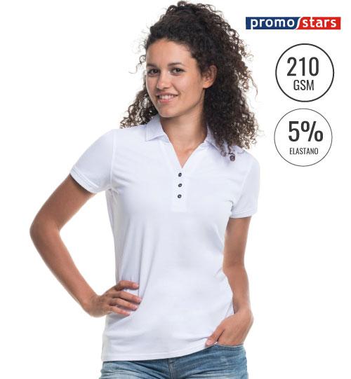 Polo marškinėliai moterims Coast 42274 PROMOSTARS