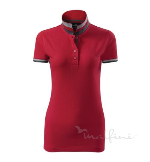 Polo marškinėliai COLLAR UP Ladies 257 MALFINI ADLER
