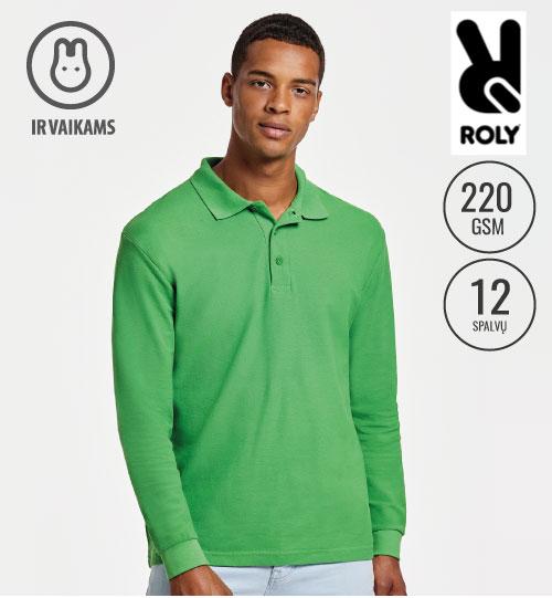 Polo marškinėliai Estrella men LSL 6635 ROLY