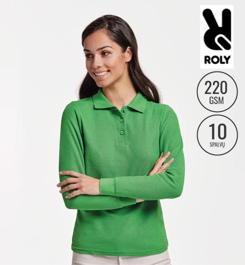 Polo marškinėliai Estrela/women LSL 6636 ROLY