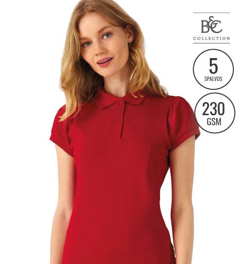Polo marškinėliai  HEAVYMILL /WOMEN   595.42 PW460  B&C