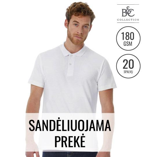 Polo marškinėliai  Pique ID.001/Men 548.42 PUI10 B&C