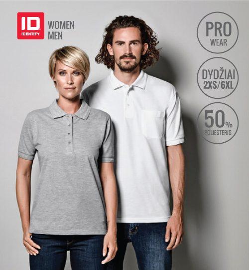 ID Polo marškinėliai ID IDENTITY 0320 PRO wear men's / 0321 Ladie's
