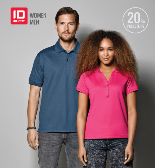 ID Polo marškinėliai ID IDENTITY 0561 GAME pique Ladie's / 0560 men's