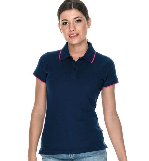 Polo marškinėliai Ladies Line 42283 PROMOSTARS