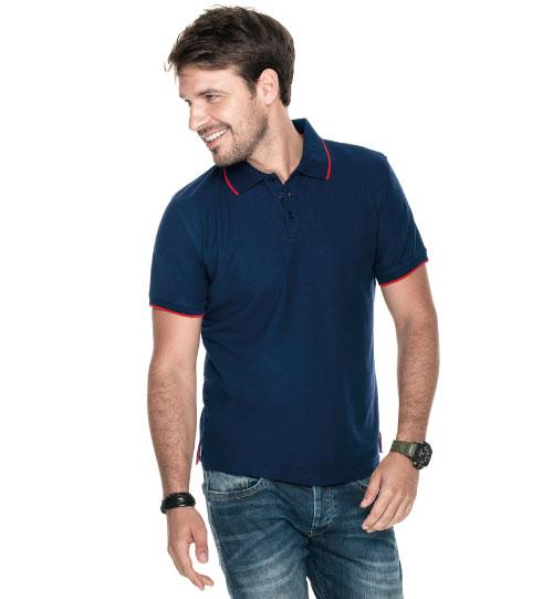 Polo marškinėliai Line Man 42280 PROMOSTARS