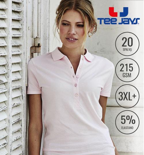 Polo marškinėliai Luxury Stretch Ladies 513.54 (145) TEE JAYS