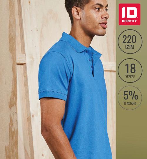 Polo marškinėliai  Strech 0525 ID IDENTITY
