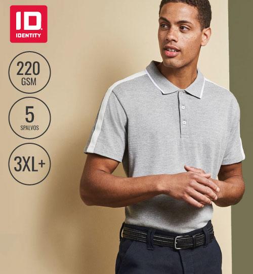 Polo marškinėliai Contrast Band Men's ID IDENTITY
