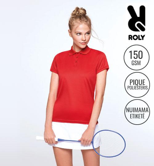Polo marškinėliai sportui Monzha Ladies 0410 ROLY