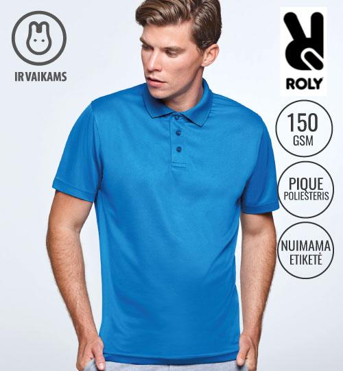 Polo marškinėliai sportui Monzha Men 0404 ROLY