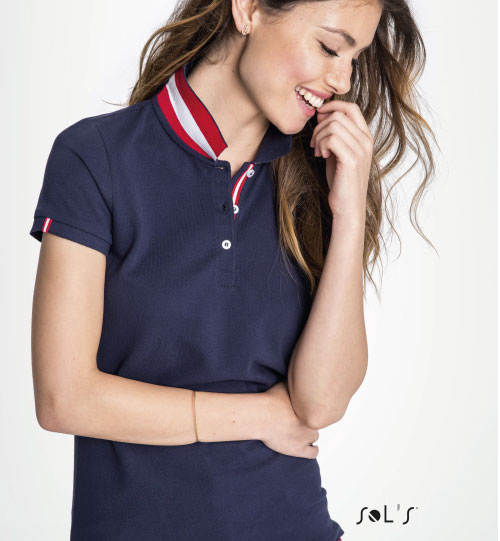 Polo marškinėliai Patriot Women 01407 SOLS