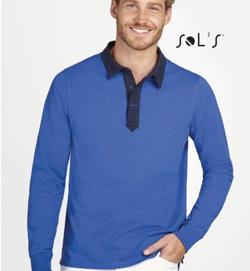 Regbio polo marškinėliai Preston 02951 SOLS