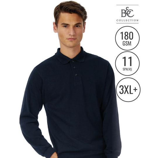 Polo marškinėliai  Safran LSL/men 554.42 PU414 B&C